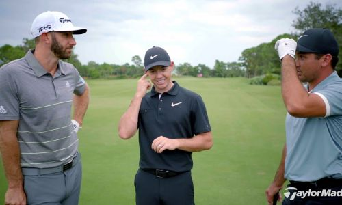 DJ, Rory and Jason Day
